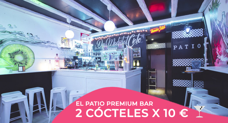 El patio premierum bar cocteles
