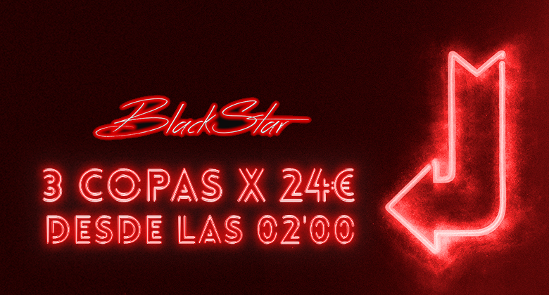 Promo black star club 24