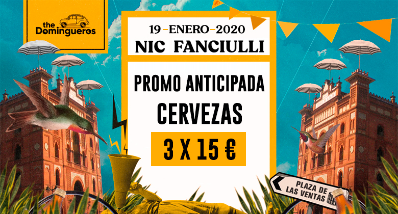 Anticipada cervezas domingueros nic