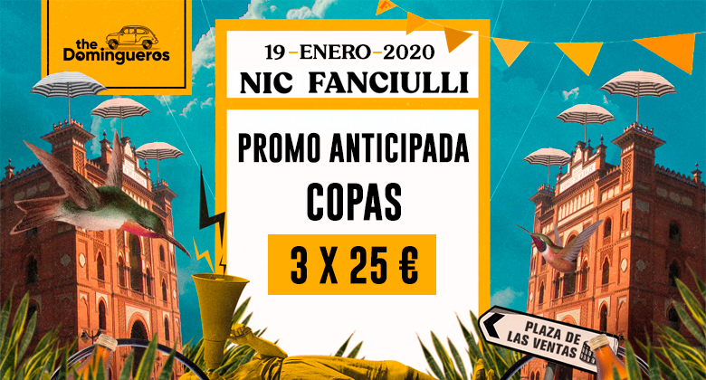 Anticipada copas domingueros nic