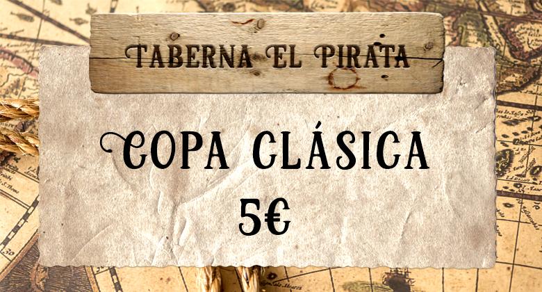 Taberna pirata copa clasica